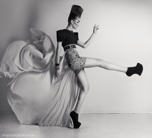 """""""pudełeczko"""" sesja fashion z Magdą Cibis"""