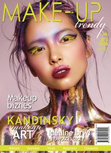 """""""Editorial Make-up""""-  Masterclass z Kamilą Patyną + Edytorial od Turava&Rędzikowski + Publikacja w Make-Up Trendy dla Najlepszej Pracy"""